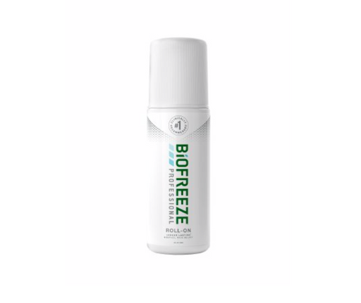 Biofreeze Professional Roll-On 5% Pain Relief Gel, 3oz - Medical Supply Surplus