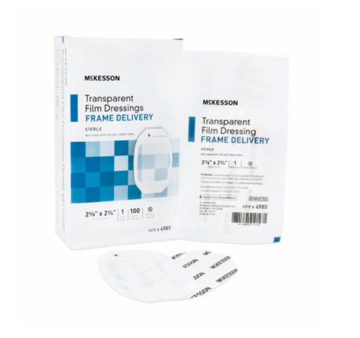 Mckesson Transparent Film Dressing - Medical Supply Surplus