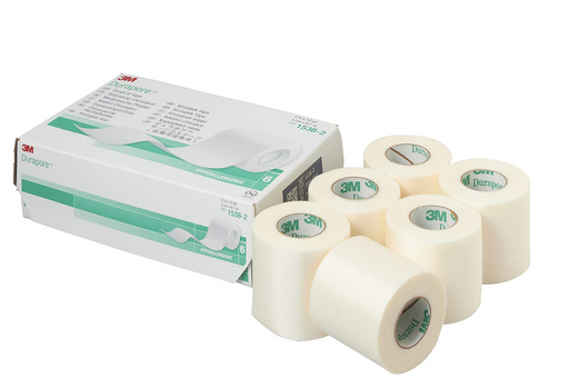 "3M™ Durapore™ 2"" Silk-Like Cloth Tape NonSterile - Medical Supply Surplus"
