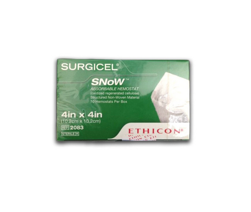 Surgicel® Snow™ Absorbable Hemostat- Box of 10 (Short Dated) - Medical Supply Surplus