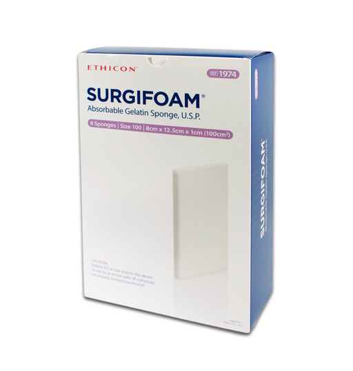 Surgifoam® Hydrogel Dressing 8-1/2 X 12 cm Sterile - 1974 - Medical Supply Surplus