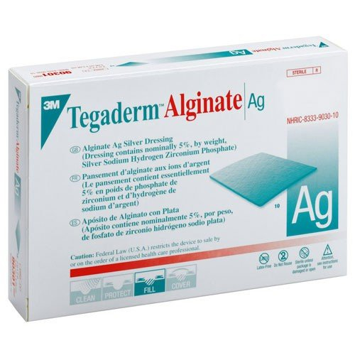 Tegaderm Alginate AG Silver Dressing - Medical Supply Surplus