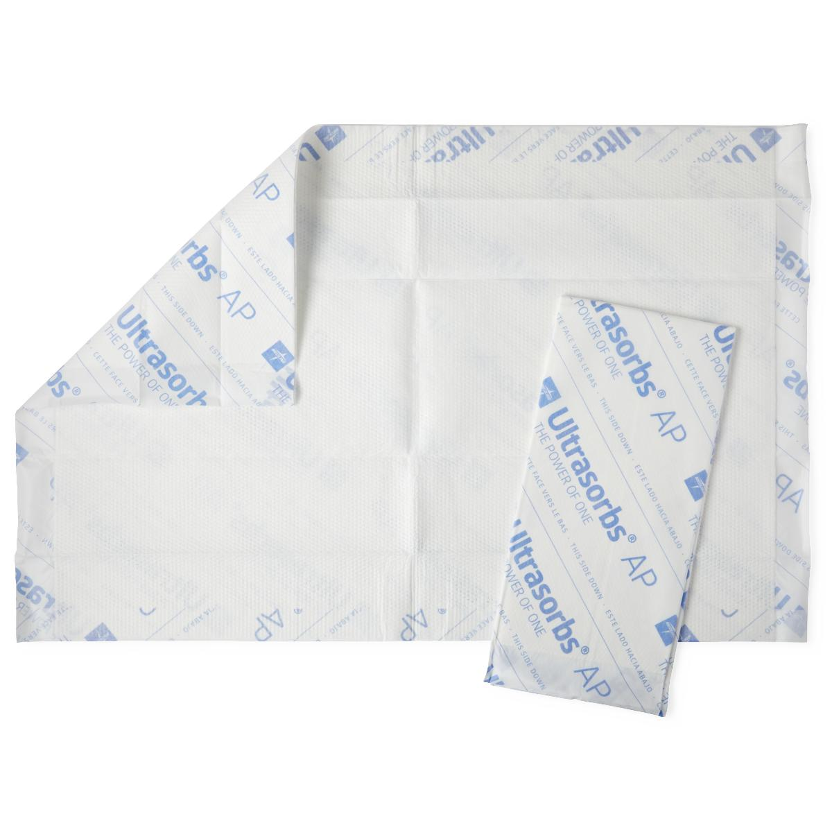 Ultrasorbs Air Permeable Drypad Underpads 18 x 24 - 60/Case