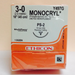 "Y497G: 3-0 Monocryl 18"" P-3 - Box of 12 - Medical Supply Surplus"