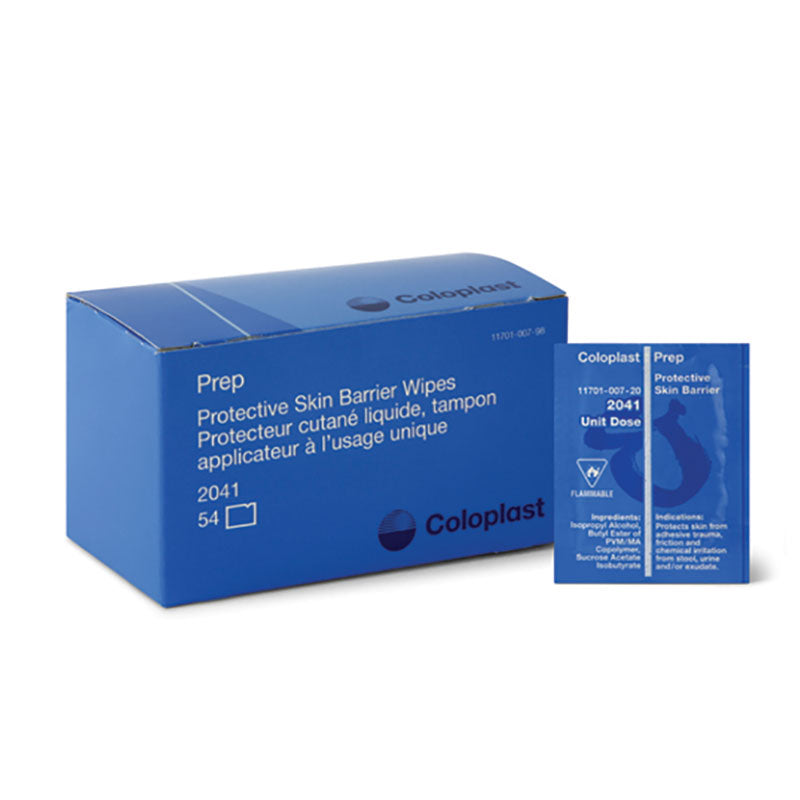 PREP Protective Skin Barrier Wipes - 54/Box