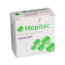 "Mepitac Silicone Tape 1.5"" x 59"" 298400 - 1 Roll - Medical Supply Surplus"
