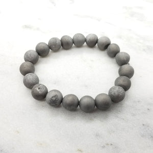 Gun Your Metal Geode Bracelet