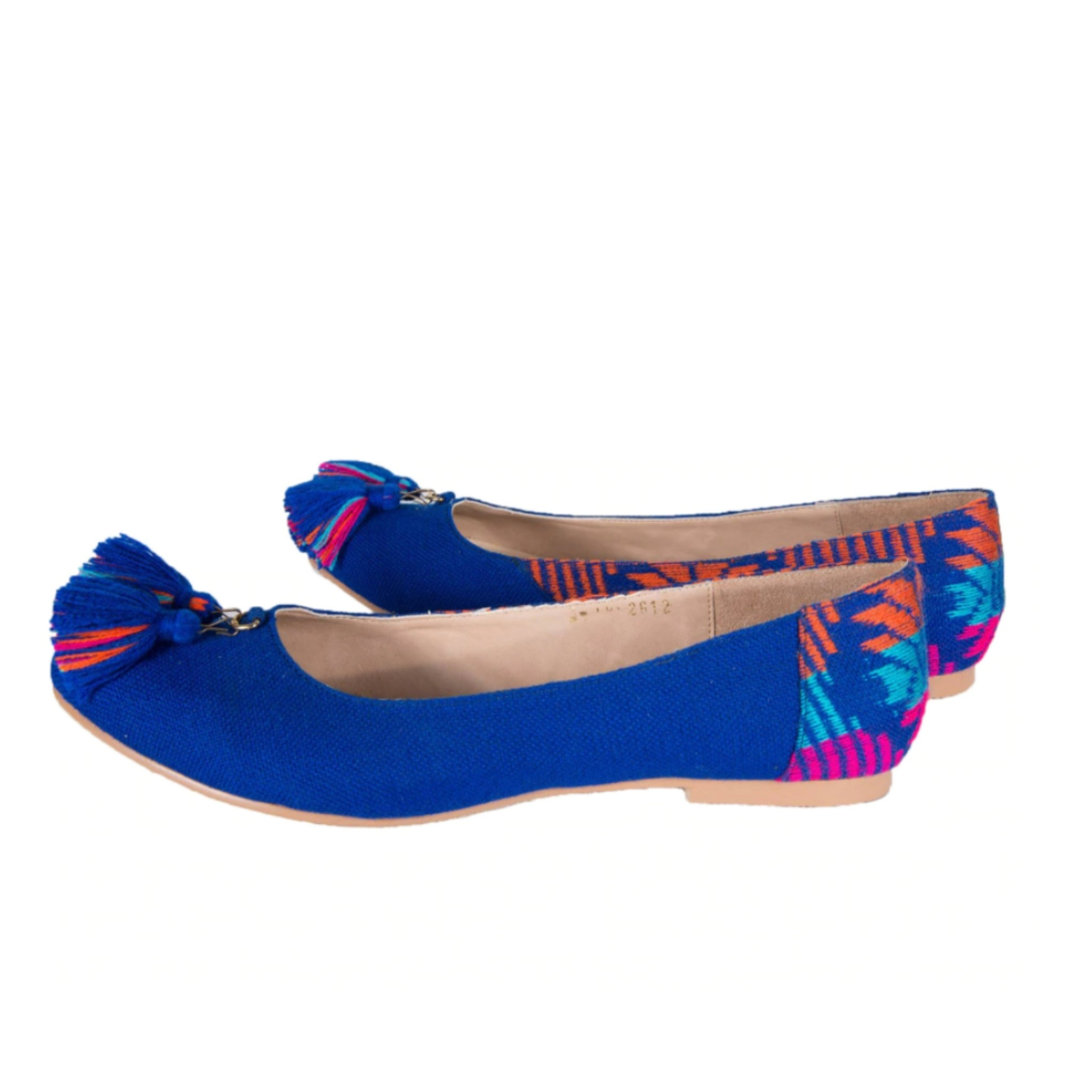 Mexican Flats Blue Embroidered 3