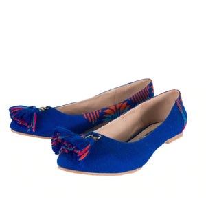 Mexican Flats Blue Embroidered 4