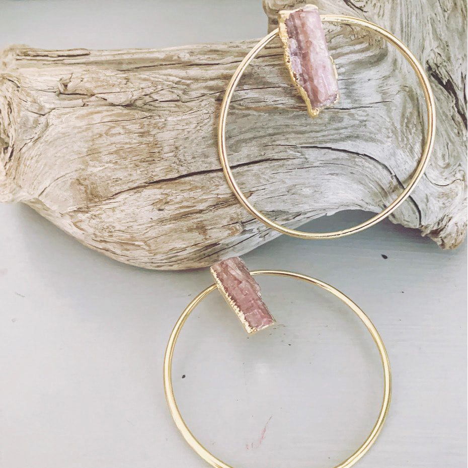 Got the Goods Gemstone Hoops
