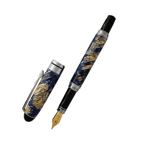European Fountain Pen (silver) - Spinning Branch Studio