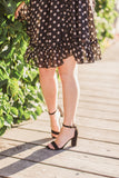 Laurel Polka Dot Dress