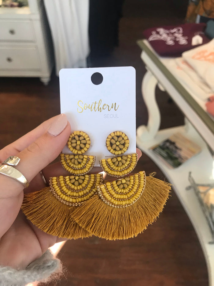 Jenny Fringe Earrings