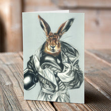 BOXING HARE - CARDS (SET OF 6)