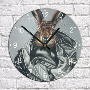 BOXING HARE - CLOCK