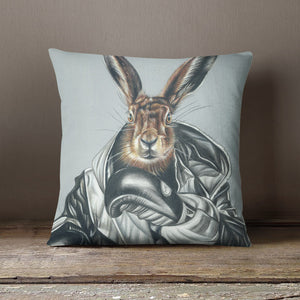 BOXING HARE - CUSHION