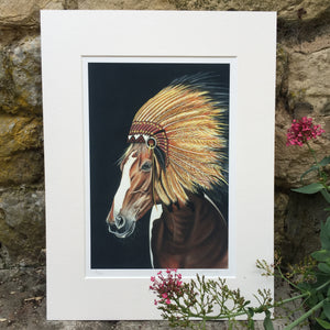 CHIEF Limited Edition Print