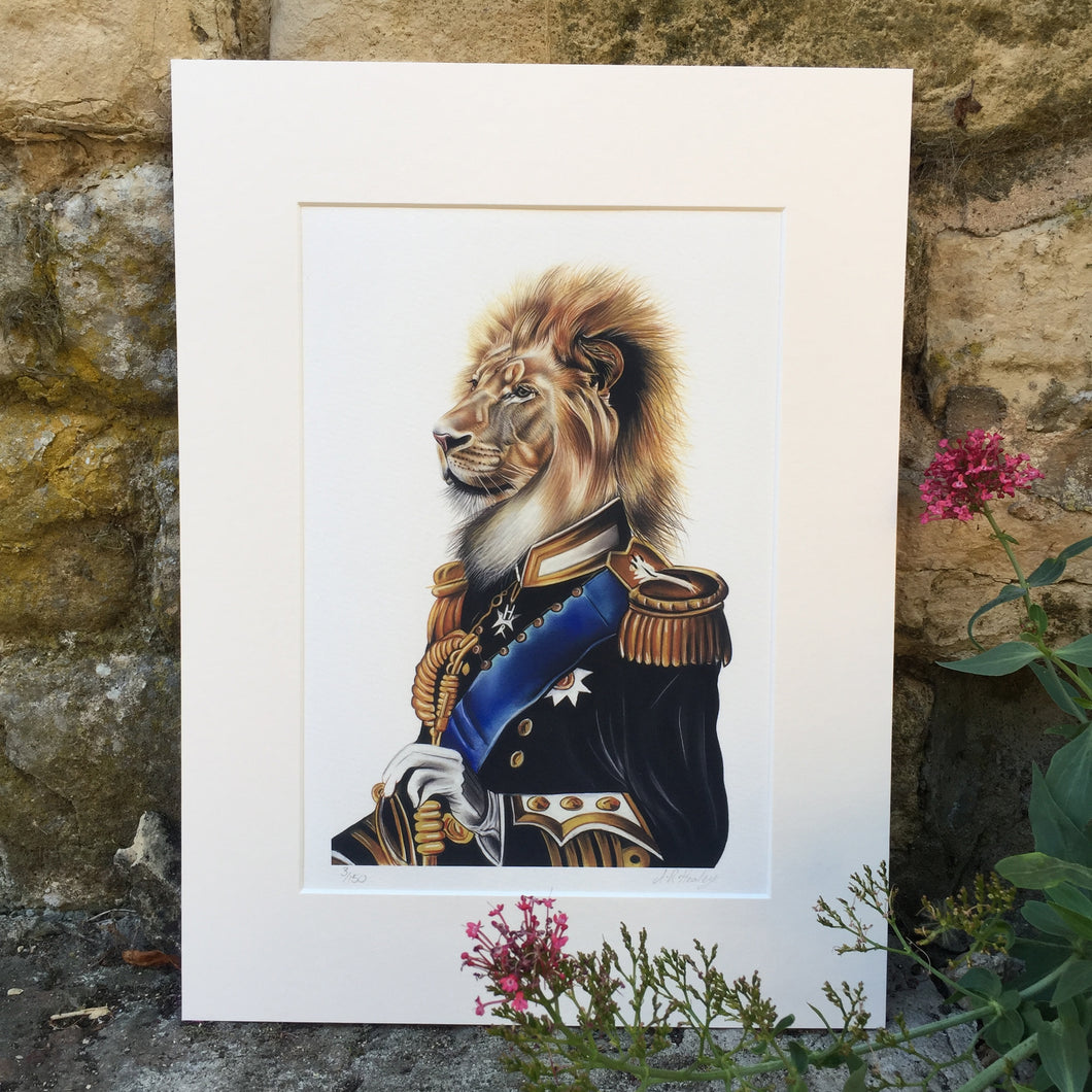 THE KING Limited Edition Print