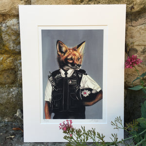SLY FOX Limited Edition Print