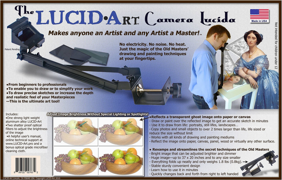 Lucid-Art Camera Lucida With Photo Projector