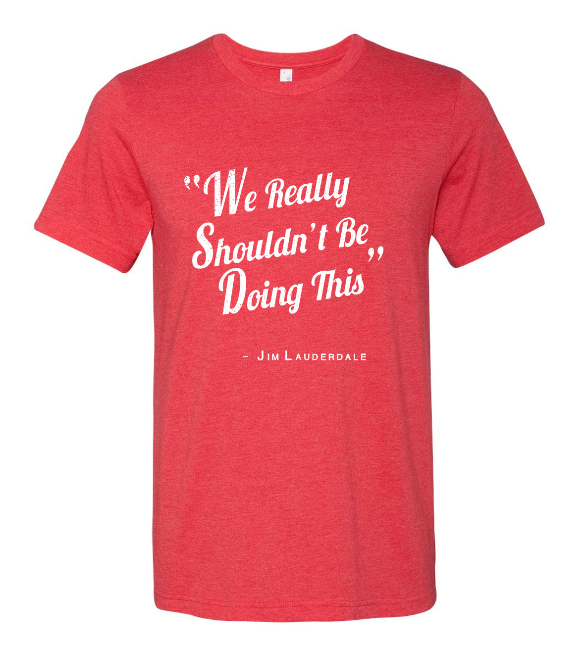 We Really Shouldn't Be Doing This T-Shirt