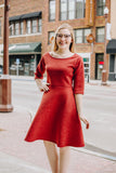 Spice Fit n Flare Dress
