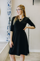 Black Fit n Flare Dress