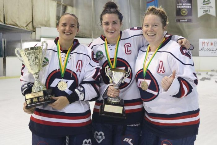 Australian ice hockey champions forced to pay to play the game they love
