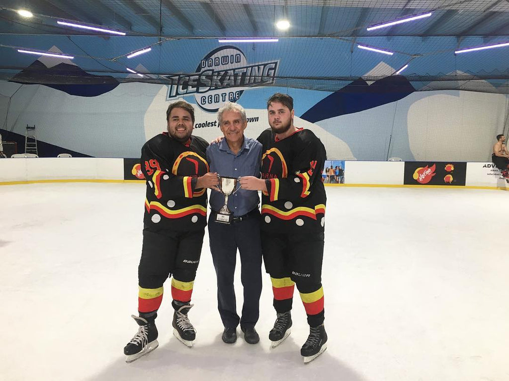 Aussie Puck support first Australian indigenous team Kaurna Boomerangs