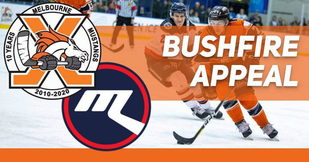 Aussie Puck supporting Bushfire Appeal Game