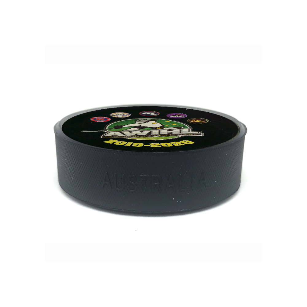 AWIHL 2019-20 Season puck
