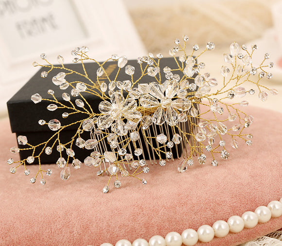 Headwear / hair combs / hairpiece / wedding special occasion