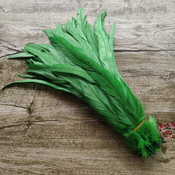 Rooster coque tail feather - pack of 5 feathers