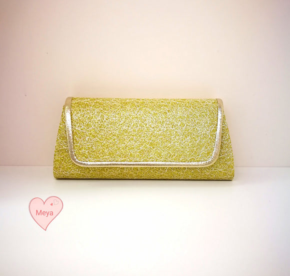 Glitter clutchbag (5 colors)