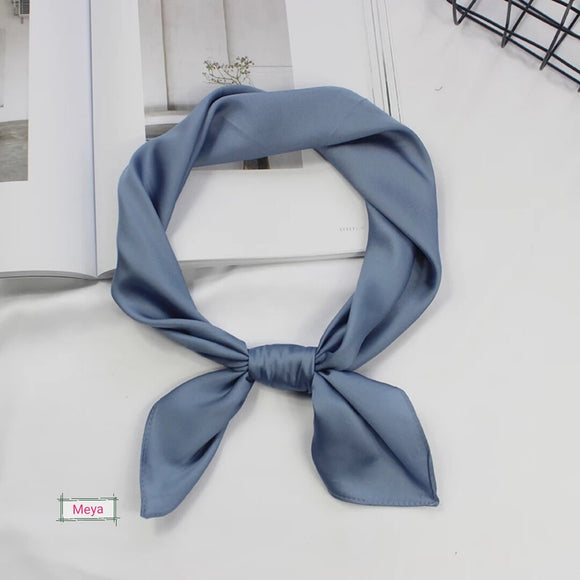 Light blue neck tie scarf
