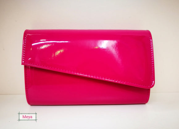 Shiny clutchbag (21 different colours)