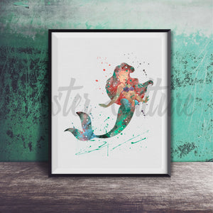 Ariel - The Little Mermaid Art Print