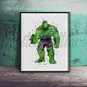 The Hulk Art Print