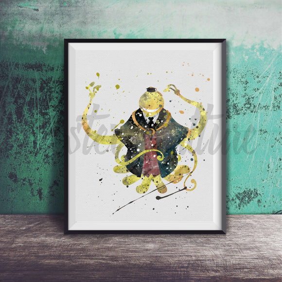 Koro-Sensei - Assassination Classroom Art Print