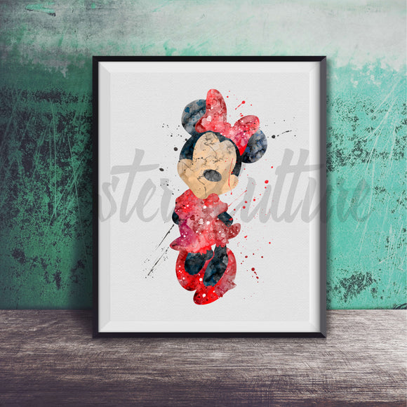 Minnie Mouse Art Print