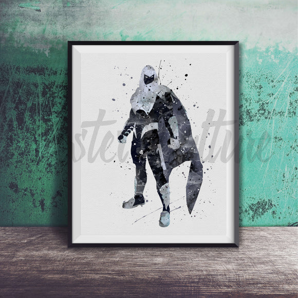 Moon Knight Art Print
