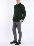 Jacket from Austrian loden in dark green