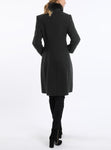 Coat from authentic Tyrolean loden in dark green
