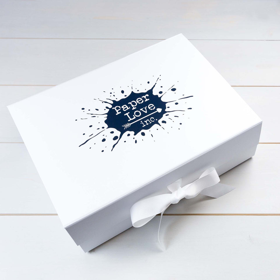 Luxury Wedding Invitations, Wedding Stationery, Keepsake Box, PaperLove inc.