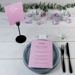 Rose Garden Collection of Table Numbers