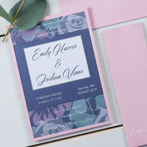 Rose Garden Wedding Invitation Suite