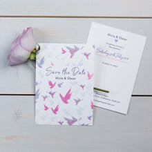 Save The Date, Wedding Stationery, Fallen For You, Botanical, Flutter, PaperLove inc.