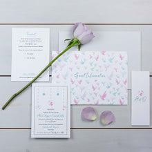 Luxury Wedding Invitations, Wedding Stationery, Fallen For You, Coastal, Flutter, PaperLove inc.