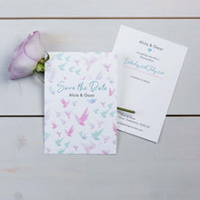 Save The Date, Wedding Stationery, Fallen For You, Coastal, Flutter, PaperLove inc.