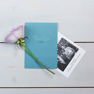 Thank You Cards, Wedding Stationery, Fallen For You, Coastal, PaperLove inc.